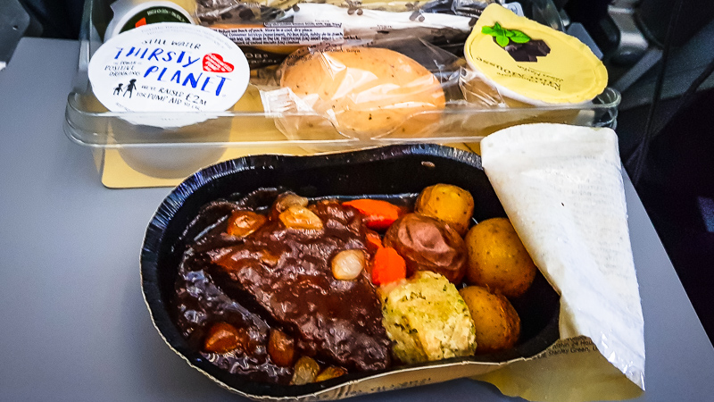 f3 journals-thomas cook inflight meal 1
