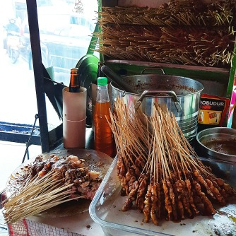 satay pre-cooked
